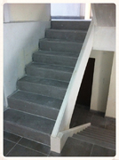 Escalier en staff